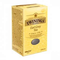 TWININGS EARL GREY TEA PAPIRDOBOZOS 100 g