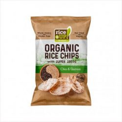 Rice up barnarizs chips chia-quinoa 25 g   - Életmód ABC
