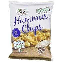 Eat real csicseriborsó chips sós 45 g