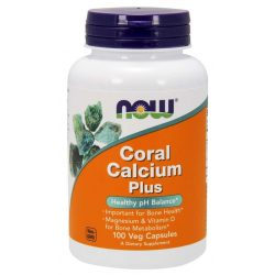 Now coral calcium plus - 100 kapszula - Életmód ABC