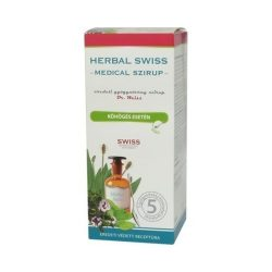 Herbal swiss medical szirup 300 ml   - Életmód ABC